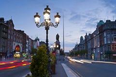 Dublín en la oscuridad Fotografía de archivo libre de regalías