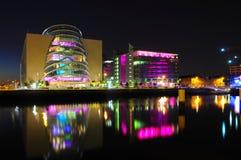 Dublín, escena de la noche Fotos de archivo