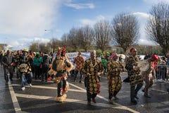 Dublín, Irlanda desfile del día del St Patrics del 17 de marzo de 2019 fotografía de archivo libre de regalías