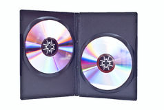 Duble dvd case Stock Photos