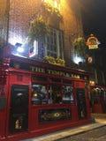 Dublin świątyni bar Obraz Royalty Free