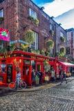 Dublin świątyni bar zdjęcie stock