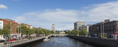 dublin Ирландия стоковые фотографии rf