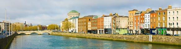 Dublin. Liffey River in Dublin, Ireland stock images