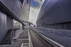 Dublin airport Stock Photo