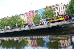 Dublin architecture, Ireland Royalty Free Stock Images