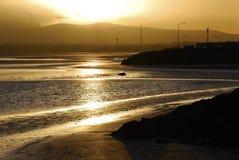 Dublin au crépuscule Photos libres de droits