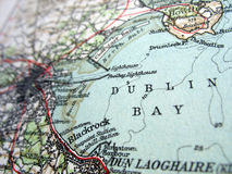 Dublin Bay. The way we looked at Dublin Bay in 1949 Royalty Free Stock Photography
