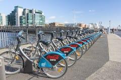 Dublin Bikes Immagini Stock