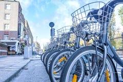 Dublin Bikes Royalty Free Stock Images
