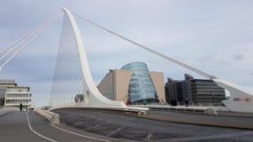 Dublin Bridge Royaltyfri Bild