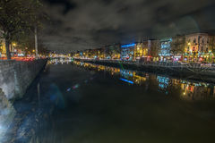 Dublin Bridge Royaltyfri Bild