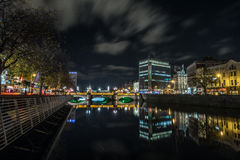 Dublin Bridge Royaltyfri Foto