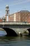 Dublin Bridge. Bridge in downtown Dublin, Ireland Royalty Free Stock Photos