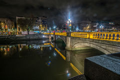 Dublin Bridge Royalty Free Stock Photo