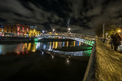 Dublin Bridge stock image