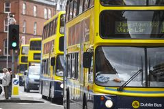 Dublin bus Stock Photos