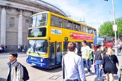 Dublin Bus Lizenzfreies Stockfoto