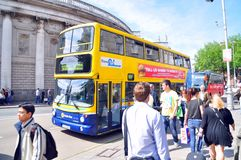 Dublin Bus Royalty Free Stock Photo
