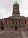 Dublin Castle Clock Tower Stockbilder