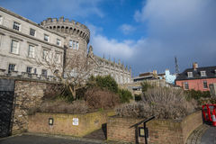 Dublin Castle - Dublin - Ireland Royalty Free Stock Photo