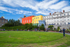Dublin Castle Gardens Royalty Free Stock Image