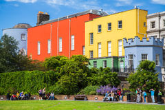 Dublin Castle Gardens Stock Photography