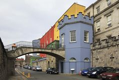 Dublin Castle - historic landmark of Irelands Royalty Free Stock Photography