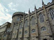 Dublin Castle i Dublin, Irland Arkivbilder