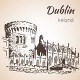 Dublin Castle - Ireland Stock Photos