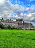 Dublin castle stock photo