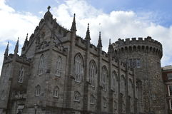 Dublin castle. The scenery of Dublin in Ireland Stock Photos
