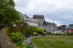 Dublin castle. The scenery of Dublin in Ireland Royalty Free Stock Image