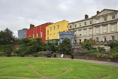 Dublin Castle, seen from the park to south Royalty Free Stock Images