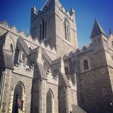 Dublin. Christ Church Cathedral Stock Photography
