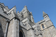 Dublin Christ Church Cathedral Stock Photo