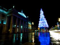 Dublin christmas lights Royalty Free Stock Photography