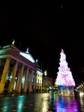 Dublin christmas lights Stock Images