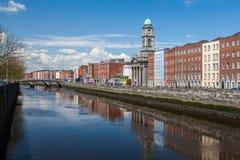 Dublin City Royaltyfria Bilder