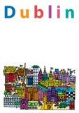 Dublin City 2 Immagine Stock
