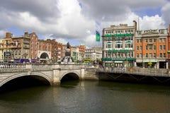 Dublin City Center Stock Image