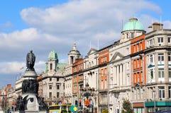 Dublin. City centre of Dublin, Ireland royalty free stock image