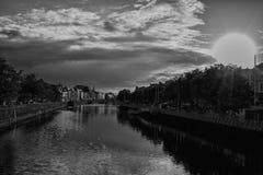 Dublin City Skyline. Taken From IFSC Stock Photography