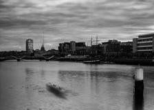 Dublin City Skyline Stock Image