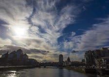 Dublin City Skyline. Taken From IFSC Stock Photo
