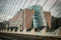 Dublin Convention Center Stock Foto