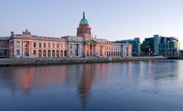 Dublin Custom House Stock Images