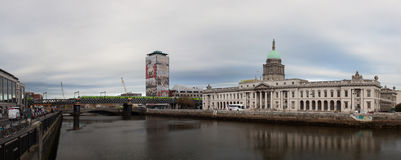 Dublin Custom House Stock Afbeelding