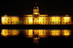 Dublin Custom House Royaltyfri Foto