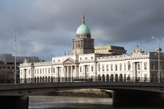 Dublin Custom House Royalty Free Stock Images